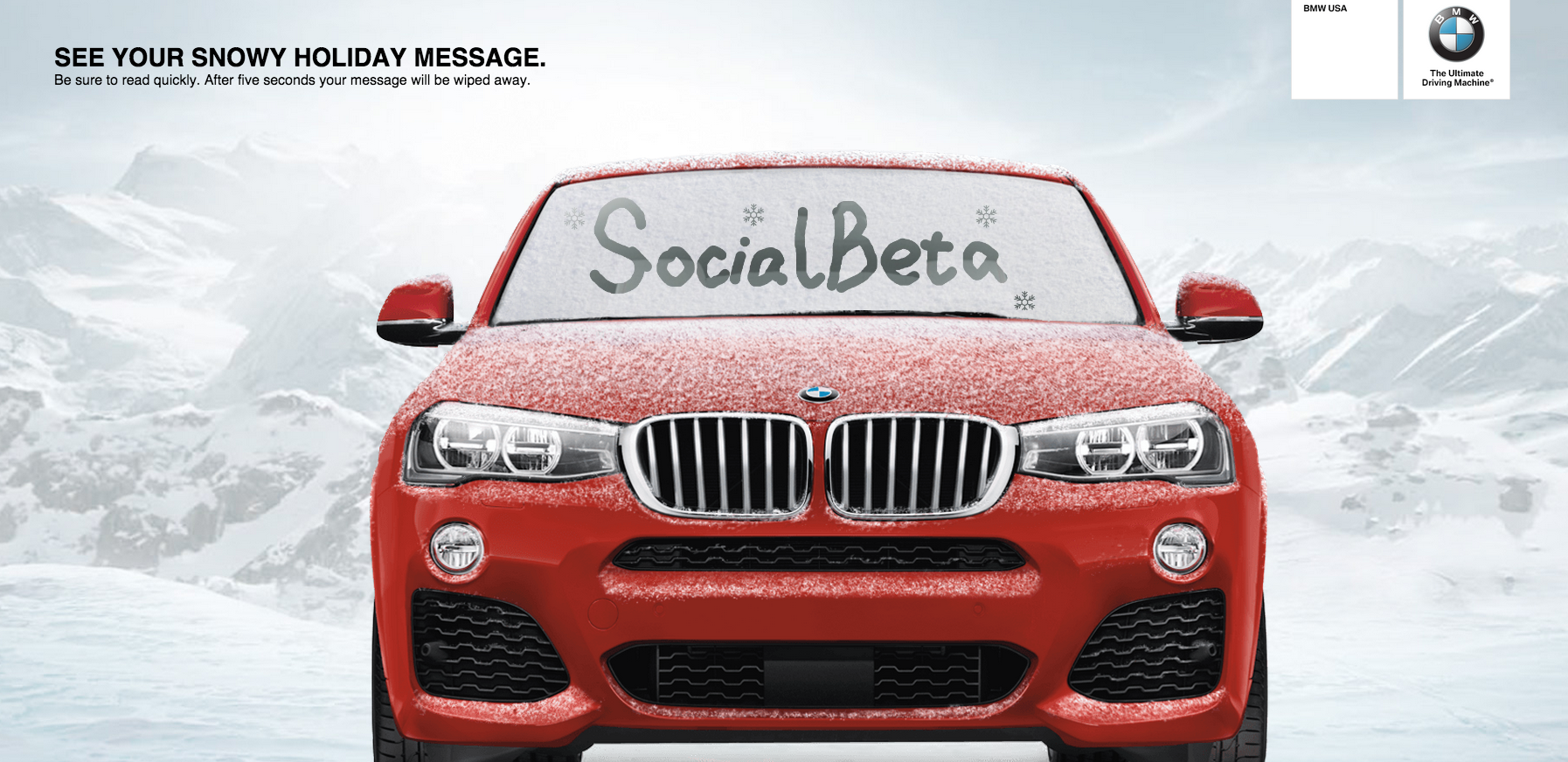 Bmw S New Social Media Campaign Uncategorized